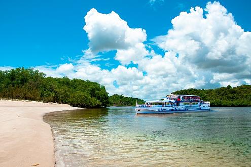 «Круиз в Бухту Радости» – пляжный отдых, живописная речная прогулка на весь день