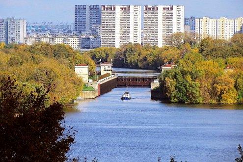 «Прогулка со шлюзованием на юге Москвы»