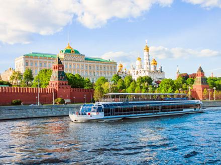 «Вояж по Москве-реке» – с обедом или ужином на теплоходе Ривер Палас